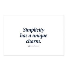 Cute Simplicity Postcards (Package of 8)