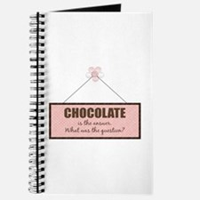 Chocolate Answer Journal