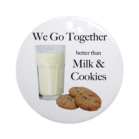 Milk & Cookies - Ornament (Round)