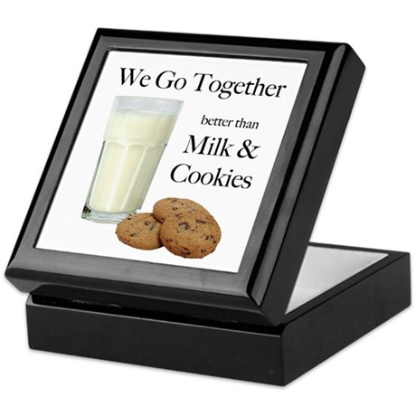 Milk & Cookies - Keepsake Box