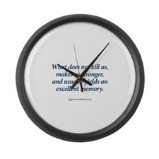 Cute Business Large Wall Clock