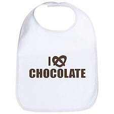 I LOVE CHOCOLATE Bib