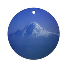 Mount Rainier Ornament (Round)