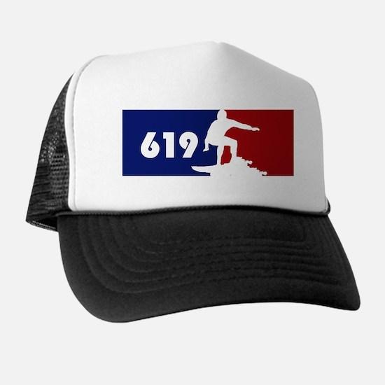 619 Surf Trucker Hat