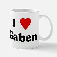 I Love Gaben Mug