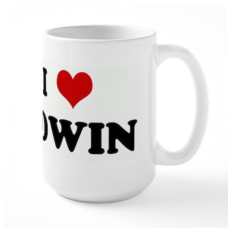I Love EDWIN Large Mug