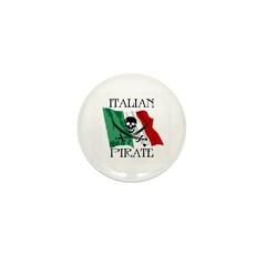Italian Pirate Mini Button (10 pack)