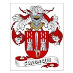 Corbacho Coat of Arms Small Poster
