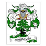 Corbalán Coat of Arms Small Poster
