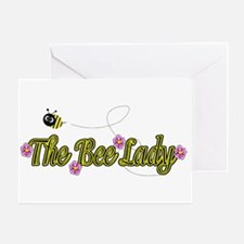 The Bee Lady Greeting Card