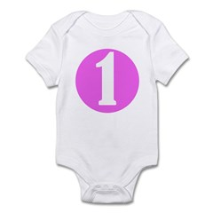 Age One Pink Infant Creeper