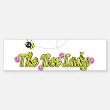 The Bee Lady Bumper Bumper Bumper Sticker
