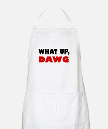 What Up, DAWG BBQ Apron