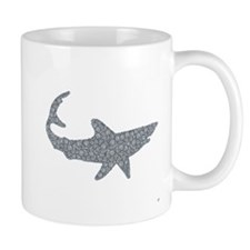 Shark in Circles Mug