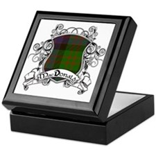 MacDonald Tartan Shield Keepsake Box