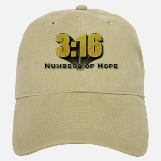 Numbers of Hope John 3:16 Baseball Baseball Cap