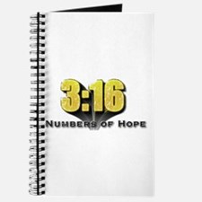 Numbers of Hope John 3:16 Journal