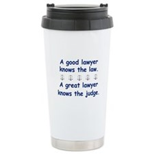 Good/Great Lawyer Travel Mug