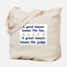 Good/Great Lawyer Tote Bag