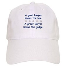 Good/Great Lawyer Baseball Baseball Cap
