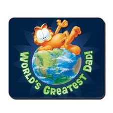World's Greatest Dad! Mousepad