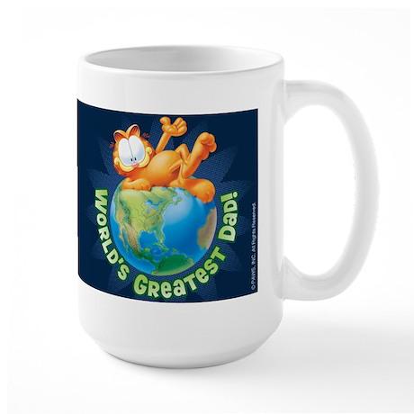 World's Greatest Dad! Large Mug