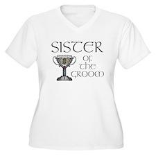 Celtic Sister of the Groom T-Shirt
