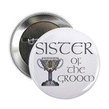 "Celtic Sister of the Groom 2.25"" Button"