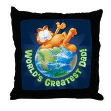 World's Greatest Dad! Throw Pillow