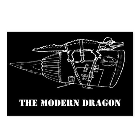The Modern Dragon Postcards (Package of 8)