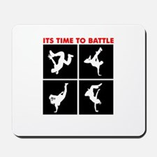 Breakdance Battle Mousepad
