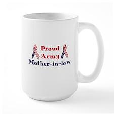 Army Mother-in-law (RWB) Mug