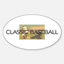 TOP Classic Baseball Decal