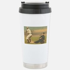 TOP Classic Baseball Stainless Steel Travel Mug