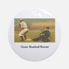 TOP Classic Baseball Ornament (Round)