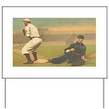 TOP Classic Baseball Yard Sign