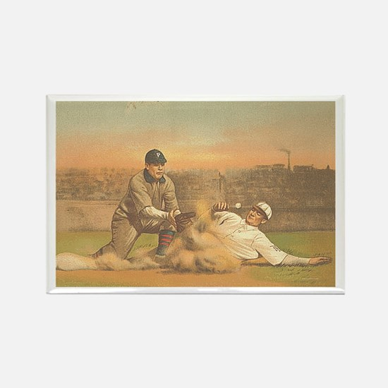 TOP Classic Baseball Rectangle Magnet