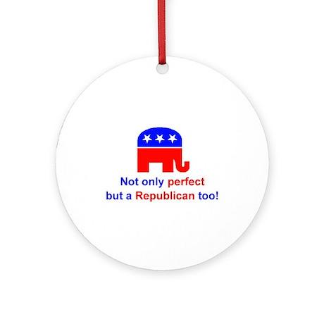 Perfect Republican Keepsake Ornament