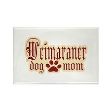 Weimaraner Mom Rectangle Magnet