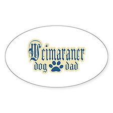 Weimaraner Dad Decal
