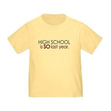 Funny High School Grad T