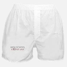 Funny High School Grad Boxer Shorts