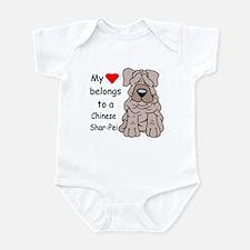 My Heart Shar Pei Infant Creeper