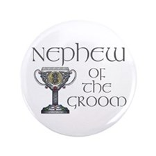 "Celtic Nephew of Groom 3.5"" Button"