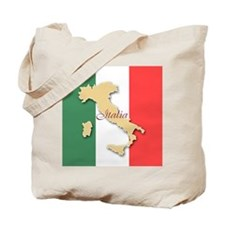 Italia (Italy Map) Tote Bag