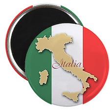 Italia (Italy Map) Magnet