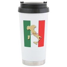 Italia (Italy Map) Travel Mug