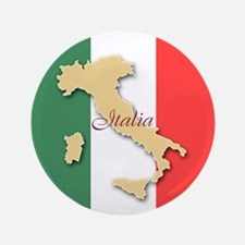 "Italia (Italy Map) 3.5"" Button"
