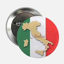 "Italia (Italy Map) 2.25"" Button"