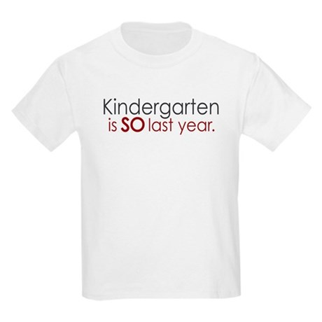 Funny Kindergarten Grad Kids Light T-Shirt